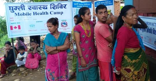 General Health Camp at Haldekalika V.D.C, Nuwakot