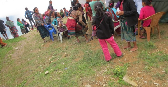 RH Camp at Ramche,Rasuwa